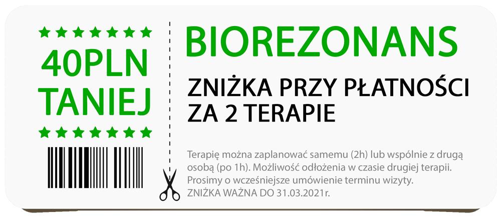 kupon biorezonans